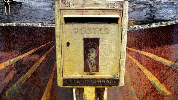 Arthur Rimbaud still receives letters at the cemetery of Charleville-Mézières, 128 years after his death in 1891.