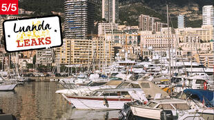 Le port de Monaco.