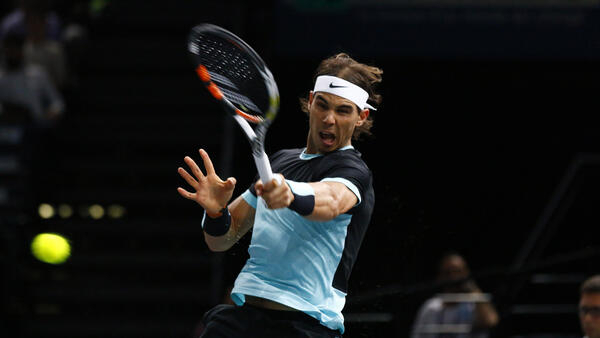 Rafael Nadal won the first Rio Open in 2014.