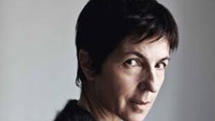 La romancière française Christine Angot.