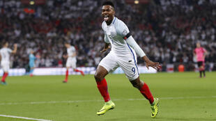Daniel Sturridge scored England's first goal in their victory over Scotland.