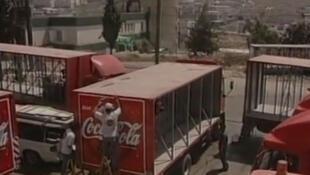Fábrica da Coca-Cola deve entrar em funcionamento na Faixa de Gaza nas próximas semanas.