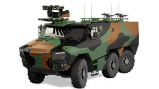 Le Griffon pourra embarquer 10 combattants équipés et atteindre une vitesse de 90 km/h.
