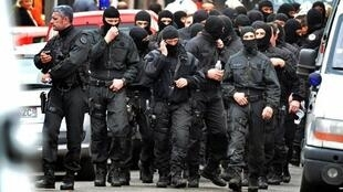 Membros das forças especiais do Raid em Toulouse, em março de 2012.