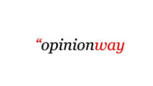 Logo d'Opinion Way, institut de sondage.