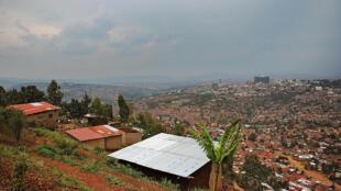 Vue générale de Kigali, la capitale du Rwanda, en septembre 2013.