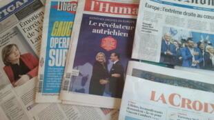 Primeiras páginas dos jornais franceses 20 de maio de 2019