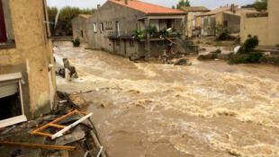 В последний раз уровень воды в реке Од поднимался до такого уровня 127 лет назад
