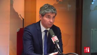 Gilles Platret sur RFI le 28 février 2018.