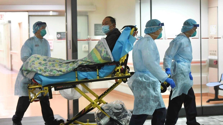 corona virus in china patients