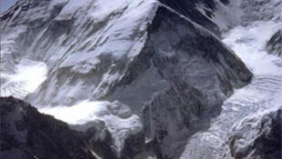 The west face of Mount Everest