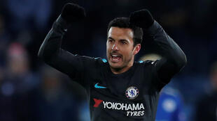 Pedro Rodriguez scored Chelsea's winner in their FA Cup quarter-final win at Leicester City.