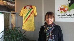 Annie Gasnier, jornalista esportiva da Rádio França Internacional