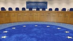 Зал заседаний ЕСПЧ в Страсбурге