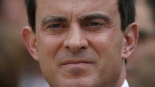 French Interior Minister, Manuel Valls