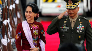 Aung San Suu Kyi jagorar gwamnatin Myanmar