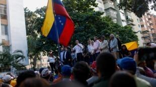 Juan Guaido à Caracas, le 11 janvier 2020.