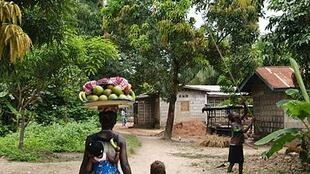 Woman and child in Sierra Leone.