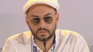 O diretor de teatro e cinema russo Kirill Serebrennikov.