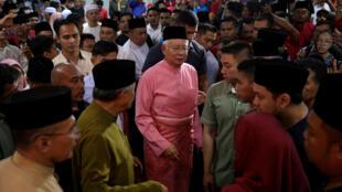 Malaysia : Ông Najib Razak dự lễ kỷ niệm 72 năm thành lập đảng UMNO. Ảnh tại Kuala Lumpur, ngày 11/05/2018.