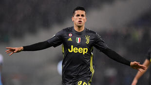 Joao Cancelo scored Juventus's equaliser against Lazio five minutes after coming on as a substitute.