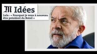 Tribuna de Lula en Le Monde.