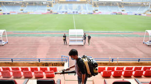 The Chinese Super League has been suspended indefinitely