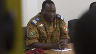 O tenente coronel Isaac Zida, actual homem forte do Burkina Faso