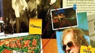 "Capa do livro de António Ribeiro ""És meu disse ela"""