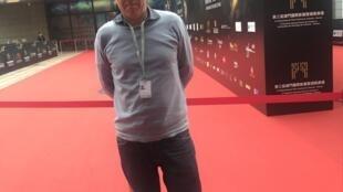 Luís Urbano, produtor português, no Festival internacional de cinema de Macau a 9 de Dezembro de 2018.