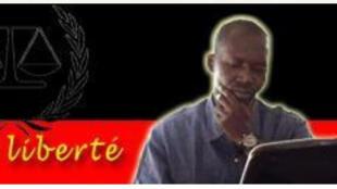 Makaila Nguebla, le blogueur tchadien expulsé par le Sénégal vers la Guinée.