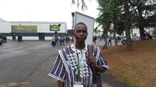 Natama Benoit, agent technique d'élevage à Ouéléni, province de la Léraba au Burkina Faso