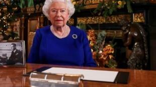 英国每当危难时刻,女王才对全国发表讲话  资料照片