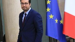 France's Digital Minister Mounir Mahjoubi