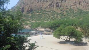 Praia do Tarrafal, ilha de Santiago