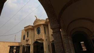A igreja do vilarejo de Bartella, no Iraque