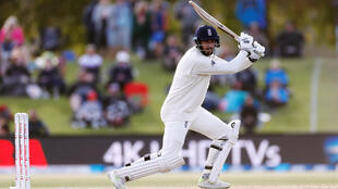 James Vince's 76 helped England into a strong position against New Zealand in the second Test in Christchurch.