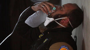 O ataque químico que fez mais de 80 mortos na cidade de Khan Cheikhoun, no passado mês de Abril,