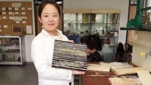 德国遇害女大学生李洋洁生前照片