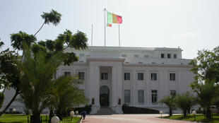 Palais présidentiel de Dakar, Sénégal.