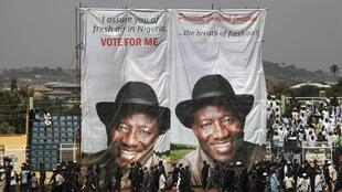Posters for Goodluck Jonathan