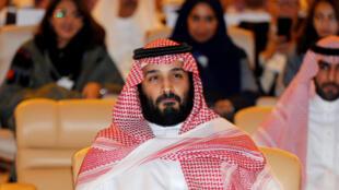 Mohammed Ben Salmane, prince héritier d'Arabie saoudite, le 24 octobre 2017 à Riyad.