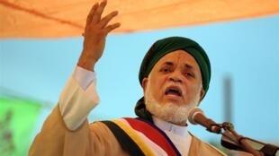 L'ex-président des Comores Ahmed Abdallah Sambi, en 2009.