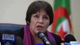 Algeria's Education Minister Nouria Benghebrit