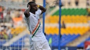 Le Nigérien Moussa Maazou lors de la CAN 2012.