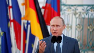 Le président russe Vladimir Poutine (image d'illustration).