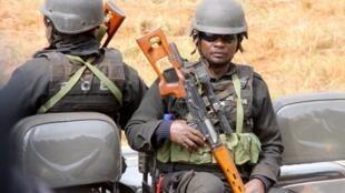 Polícia moçambicana mobilizada para a vaga de tensão em curso.