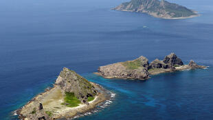Quần đảo Senkaku/Điếu Ngư trên Biển Hoa Đông do Nhật Bản kiểm soát, nhưng bị Trung Quốc đòi chủ quyền. Ảnh tư liệu chụp tháng 09/2012.