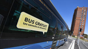 Le bus gratuit à Dunkerque.