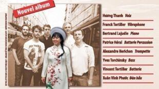 """Affiche buổi trình diễn của Hương Thanh ngày 25/01/2017 để giới thiệu album mới """" Sài Gòn, Saigon""""."""